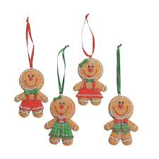 amazon com dozen 12 adorable big head gingerbread man boy