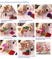 tutorial nail art foil amazon com 350buy newest 32 colors nail art transfer foil nail tip