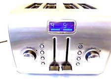 Kitchenaid Architect Toaster Kitchenaid Ktt570 4 Slice Toaster Ebay