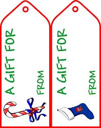diy large gift tags tag templates free printable