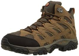 s outdoor boots in size 12 amazon com merrell s moab mid waterproof hiking boot