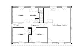 faire des chambres d h es plan maison 80m2 2 chambres 4 4540 lzzy co