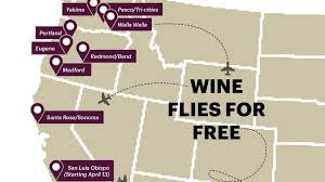 alaska air map alaska airlines offers wine flights tastings and free shipping