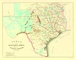 map of galveston railroad map galveston houston and henderson 1872