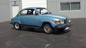 saab 1980 saab 96 gl jubileum in aquamarine blue u0026 v4 engine sound on