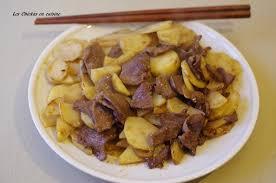 cuisine asiatique boeuf recette chinoise boeuf sauté aux pommes de terre sauce aux prunes