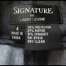larry levine signature larry levine dress pants 4 from lynn