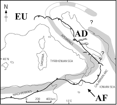 Blank Map Of Tectonic Plates by The October U2013november 2002 Molise Seismic Sequence Southern Italy