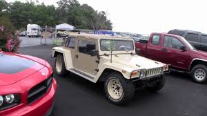 volkswagen thing 4x4 the humbug a hummer h1 body on a vw beetle chassis youtube