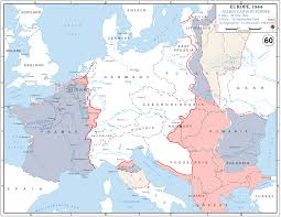 World War 1 Map Of Europe Map Of World War 2 Campaign And Battle Maps Of World War 1 And 2