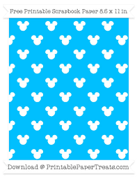 mickey mouse wrapping paper sky blue background small mickey mouse pattern paper