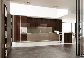 contemporary kitchen laminate lacquered high gloss