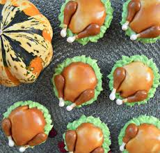 thanksgiving turkey cupcake cake tiny turkey cupcakes