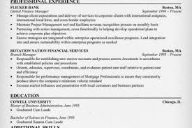 Sample Resume For Finance Manager by Finance Major Resume Reentrycorps