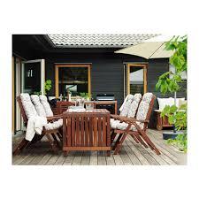 Ikea Backyard Furniture äpplarö Drop Leaf Table Outdoor Ikea