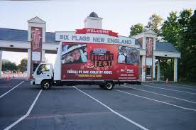 Six Flags Connecticut Six Flags Guerrilla Mobile Billboards