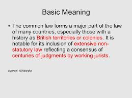 common law and equity a very short history