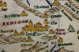 Medieval Maps Brandeis Special Collections Spotlight Muriel And Jeremy Josse