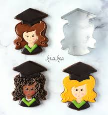 graduation cookies how to make decorated girl graduation cookies lilaloa how to