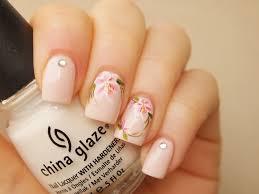 white pink lily nail art water decals 20pcs floral nail art