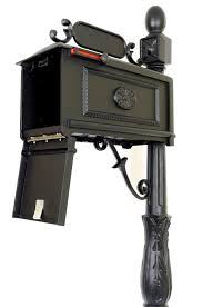 venia mailboxes curbside mailbox with address plaque and