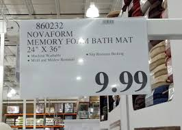 Bathroom Memory Foam Rugs Costco Bath Rugs Www Allaboutyouth Net