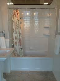 bathroom new white subway tile bathroom shower design ideas