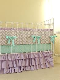 decor elegant remarkable purple airplane nursery bedding with