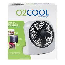 battery operated fans o2 cool desktop fan 1 0 ct walmart