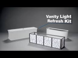 vanity light refresh kit easy upgrade for hollywood vanity light