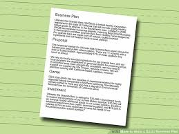 How To Write A Resume That Will Get You Hired How To Write A Basic Business Plan With Sample Business Plans