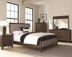 bingham collection b259 bedroom set is a retro modern design
