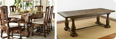 Pottery Barn Dining Room Table Knockout Knockoffs Pottery Barn Dining Room The Krazy Coupon Lady