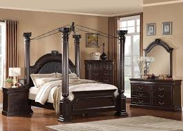Traditional Cherry Bedroom Furniture - 21340 roman empire ii bedroom in dark cherry by acme w options