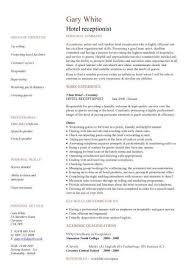 resume cover letter sample for receptionist basicresumedesign 19