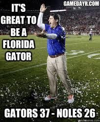 Florida Gator Memes - popular florida football memes from recent years