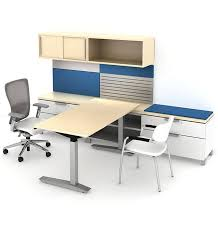 Haworth Planes Conference Table Compose Storage Haworth