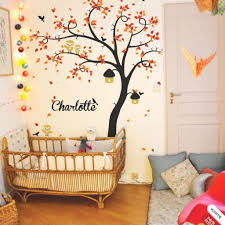 happyplace offers creative and new nursery tree wall decal ideas