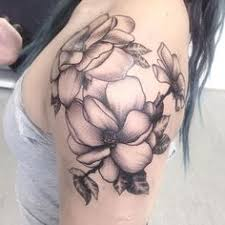 magnolia flower tattoo by siobhan alexander tattoo ideas