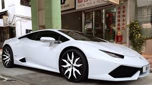 all white lamborghini lamborghini huracan spotted in hong kong