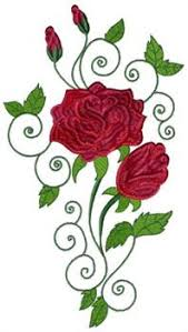 by any other name roses embroidery