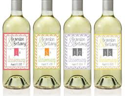 Anniversary Wine Bottles 8 Best Anniversary Wine Bottle Labels Images On Pinterest Wine