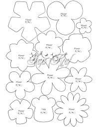 best 25 felt flowers patterns ideas on felt flowers