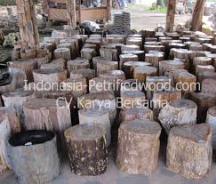 petrified wood stool top polish petrified wood indonesia
