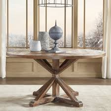 Kitchen Wood Table by Round Dining Room U0026 Kitchen Tables Shop The Best Deals For Oct
