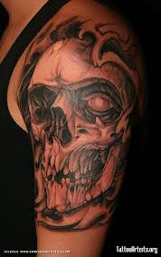 25 skull half sleeve tattoos 50 skull sleeve tattoos for masculine