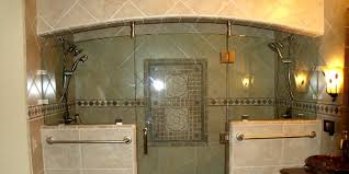 heavy plate shower doors and frameless shower enclosures in