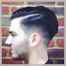 how to cut hair with a weight line gents haircut shaved up to a weight line textured through the