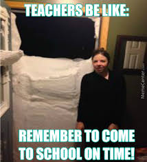 Thank God Meme - thank god some countries have snow day by donway meme center