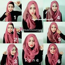 tutorial jilbab ala ivan gunawan tutorial hijab segi empat jaman sekarang tutorial hijab paling